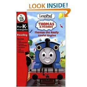 LEAPPAD THOMAS & FRIENDS BOOK (USED: GOOD)