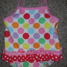 H&M Polka Dot One Piece Bathing Suit Girls Size 6-12 months