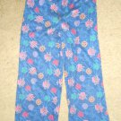 Blue BAKUGAN Flannel Sleep Pants Boys Size 8