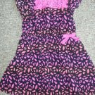 CIRCO Pink Lace Trim Capped Sleeve Dress Girls Size 3T