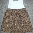 HEALTHTEX Ribbed Animal Print Tank Dress Girls Size 18 months