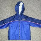 WEATHER TAMER Navy Blue Hooded Nylon Jacket Boys Size 24 months