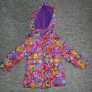 WEATHERPROOF Floral print Hooded Puffer Winter Jacket Parka Girls Size 18 months