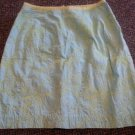 LILLY PULITZER Fully Lined Tropical Print embroidered Skirt Ladies Size 2