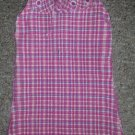 THE CHILDREN'S PLACE Pink Plaid Seersucker Sundress Girls Size 4