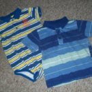 Lot of Striped Polo Style Tops Boys Size 24 months POLO - UTILITY