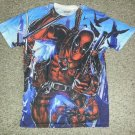 Marvel DEADPOOL Short Sleeved Top Mens MEDIUM
