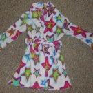 GYMBOREE Star Print Fleece Bathrobe Girls Size 2T