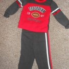 NWT Touchdown Football MAD GAME Athletic Outfit Boys Size 12 months