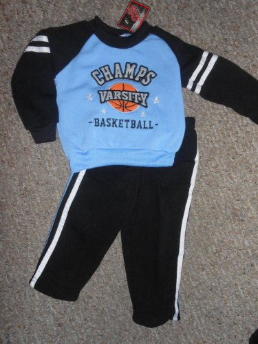 NWT Varsity Champs Basketball MAD GAME Athletic Outfit Boys Size 12 months