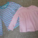 Lot of GARANIMALS Long Sleeved Tops Girls Fits size 2T 3T