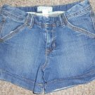 OLD NAVY Stretch Denim Shorts Girls Size 12 Adjustable Waist