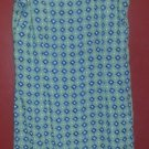 ANN TAYLOR LOFT Blue Green Floral Print Sleeveless Dress Ladies Size 4