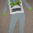 DISNEY BUZZ LIGHTYEAR Long Sleeved Pajamas Boys Size 3