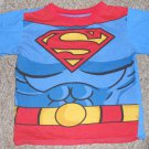 Blue SUPERMAN Short Sleeved Top Boys Size 8
