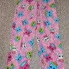 JOE BOXER Pink Skull Print Fleece Sleep Pants Girls Size 10-12 Large