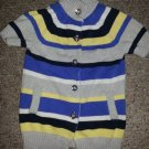 GYMBOREE Striped Short Sleeved Knit Top Girls Size 3-4