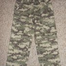 NWT Convertible Green Camo LL BEAN Lined Cargo Denim Jeans Boys Size 4