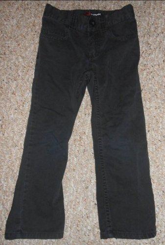TONY HAWK Black Chinos Pants Boys Size 4 Adjustable Waist
