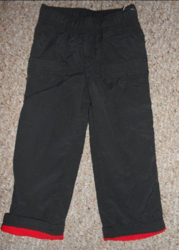 NEW Fleece Lined Black JUMPING BEANS Pants Boys Size 3T