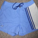 ADIDAS Blue Dri Fit Athletic Style Shorts Ladies Size 10