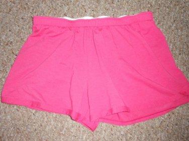 UNDER ARMOR Pink Athletic Style Shorts Ladies MEDIUM