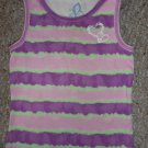 THE CHILDREN'S PLACE Purple Striped Tie Dyed Tank Top Girls Size 7-8