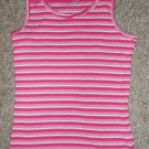 THE CHILDREN'S PLACE Pink Striped Tank Top Girls Size 10-12