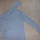 URBAN PIPELINE Blue Striped Hooded Pullover Mens XLARGE