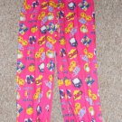 SWEET N SASSY Pink Smiley Face BFF Sleep pants Girls Size 14-16