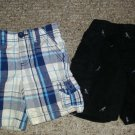 Lot of Toddler Boys Shorts Plaid HEALTHTEX Dinosaur Print GARANIMALS Boys 24 months