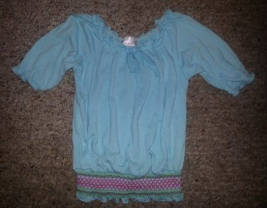 XHILARATION Blue Peasant Style Pullover Girls Size 4T