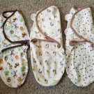 SUMMER Lot of Infant Boys Swaddles SM MED 7-14 pounds 0-3 months SWADDLE ME