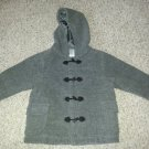 GYMBOREE Gray Wool Blend Hooded Coat Girls Size 2T