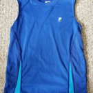 FILA Blue Sleeveless Dri Fit Boys Top Size 10-12