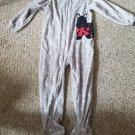 CARTER'S  Gray Polka Dot Puppy Dog Blanket Sleeper Girls Size 5