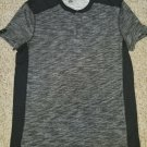 ROCK & REPUBLIC Black and Gray Short Sleeved Top Mens LARGE