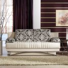 Fantasy Modern Sofa Bed In Beige and Tan