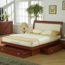Breeze Platform Bed with Storage