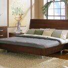 Patrone Modern Platform Bed from Clio Collection in Wenge