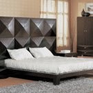 Annabela  Mahogany Modern Bed