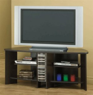 Ambrose Cappuccino Finish Tv Stand