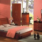 Sanremo Modern Bedroom Set w/ Storage (Full/Queen/King)