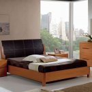 Natural Wood Modern Bedroom Set