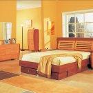 Modern Ergonomic Comfort 5 Piece bedroom Set
