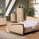 Messina contemporary Bedroom set