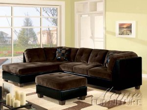 ACM Deltona (5065) // Ultra Plush Sectional Sofa