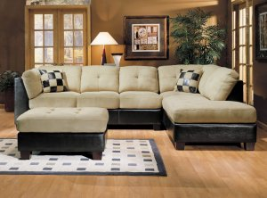 ACM Monica  // Monica Sectional Sofa