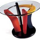 Multicolor End Table