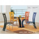 Coloured Dining Room Set (5 pcs set)